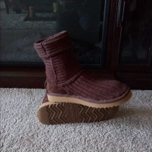 🌺🌺FIRM🌺UGG AUSTRALIA🌺SHORT KNITTED BOOTIES🌺🌺